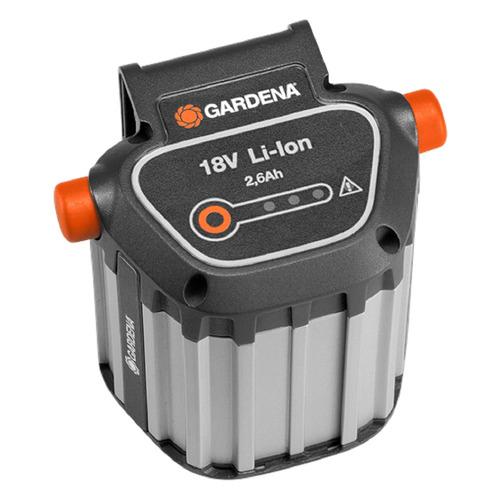 Фото - Батарея аккумуляторная Gardena BLi-18 18В 2.6Ач Li-Ion (09839-20.000.00) воздуходувка gardena аккумуляторная accujet 18 li 9335 20