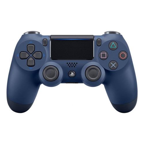 Геймпад Беспроводной PLAYSTATION Dualshock 4, для PlayStation 4, темно-синий [ps719874768] недорого