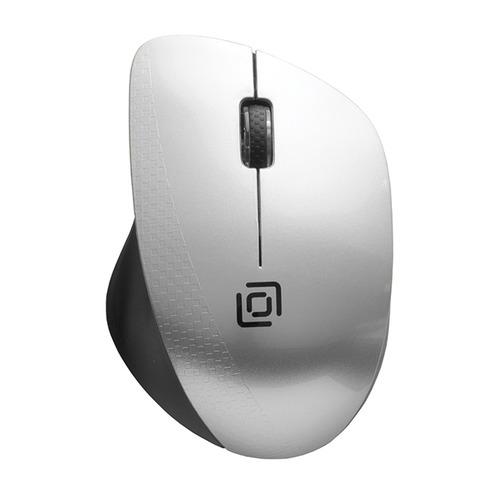 Мышь OKLICK 695MW, оптическая, беспроводная, USB, черный и серебристый все цены