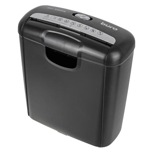Уничтожитель бумаг BURO Home BU-S601S, P-1, 6 мм, 6 лист. одновременно, 10л [os601s] BU-S601S по цене 1 650