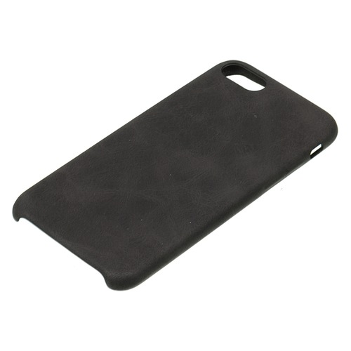 Чехол (клип-кейс) Leather C, для Apple iPhone 7/8, черный [tfn-rs-07-006ltbk]
