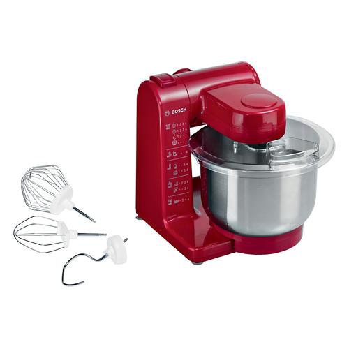 Кухонный комбайн BOSCH MUM44R1, красный