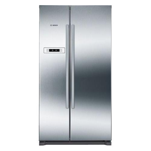 лучшая цена Холодильник BOSCH KAN90VI20R, двухкамерный, нержавеющая сталь/серый