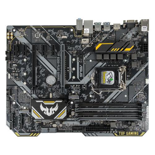 Материнская плата ASUS TUF B360-PLUS GAMING, LGA 1151v2, Intel B360, ATX, Ret цена 2017