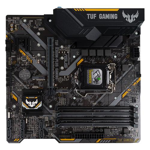 Материнская плата ASUS TUF B360M-PLUS GAMING, LGA 1151v2, Intel B360, mATX, Ret цена и фото