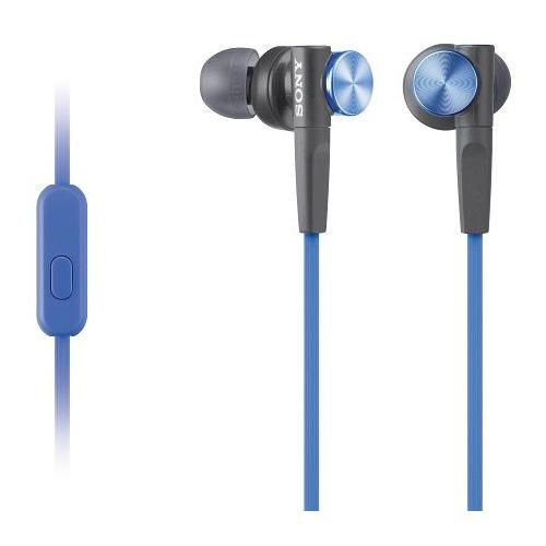 Фото - Гарнитура SONY MDR-XB50AP, 3.5 мм, вкладыши, синий [mdrxb50apl.ce7] наушники sony mdr xb50ap черный
