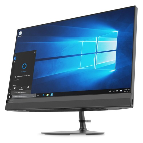 Моноблок LENOVO IdeaCentre 520-22IKU, 21., Intel Core i3 7020U, 4Гб, 16Гб  Optane, 1000Гб, AMD Radeon 530 - 2048 Мб, DVD-RW, Windows , черный [f0d500e2rk]