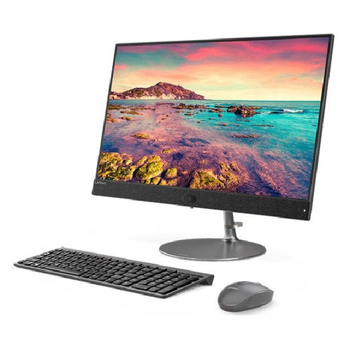 Моноблок LENOVO IdeaCentre 730S-24IKB, 23.8, Intel Core i7 8550u, 8Гб, 16Гб Intel Optane, 2Тб, AMD Radeon 530 - 2048 Мб, Windows 10, темно-серый [f0dx001erk]
