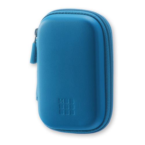 Чехол для путешествий Moleskine Journey Pouch XS 70х110x30мм (в компл.:ремешок на запястье) синий бл
