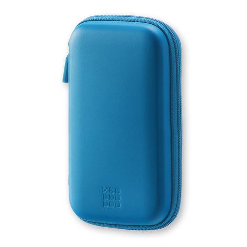 Чехол для путешествий Moleskine Journey Pouch SMALL 90х142x32мм (в компл.:ремешок на запястье) синий