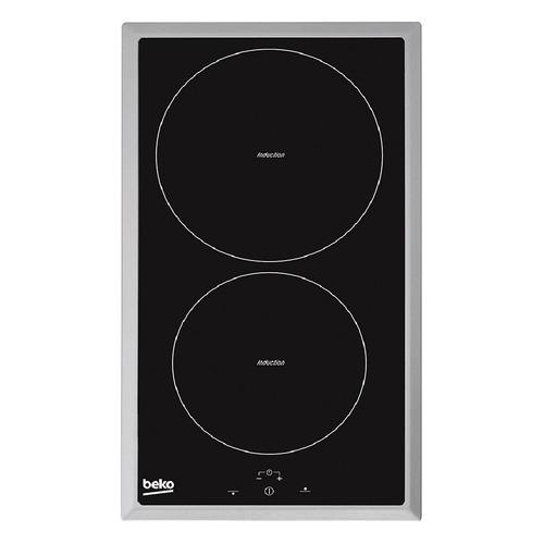 Индукционная варочная панель BEKO HDMI32400DTX, индукционная, независимая, черный варочная панель beko hiag64223w независимая белый