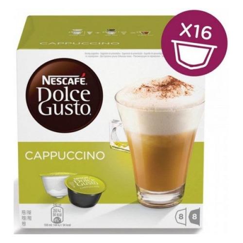 Кофе капсульный DOLCE GUSTO Cappuccino, 186.4грамм [12378323|12355121] капсулы caffe tiziano bonini cappuccino compatibile dolce gusto 16шт