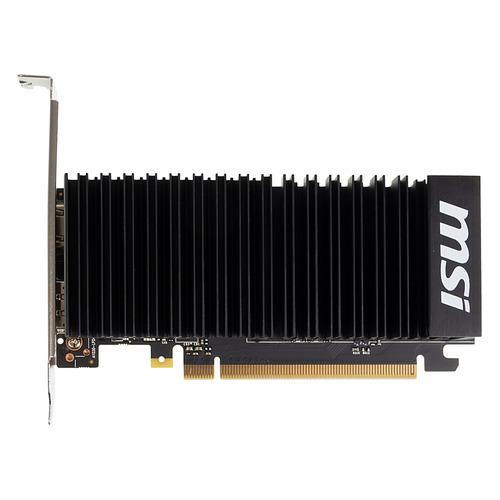 Видеокарта MSI nVidia GeForce GT 1030 , GT 1030 2GHD4 LP OC, 2ГБ, DDR4, Low Profile, OC, Ret