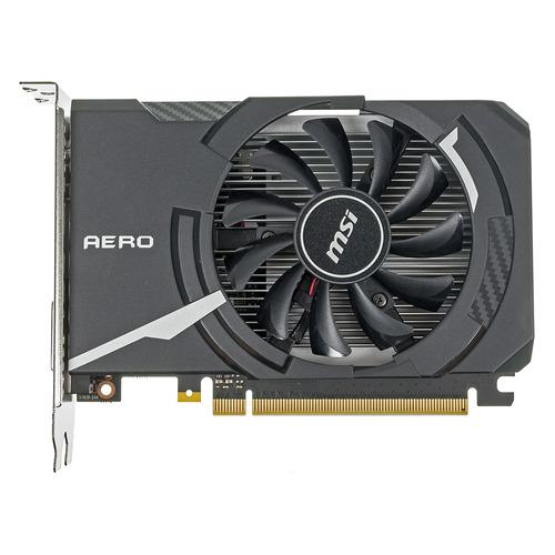 Видеокарта MSI nVidia GeForce GT 1030 , GT 1030 AERO ITX 2GD4 OC, 2ГБ, DDR4, OC, Ret