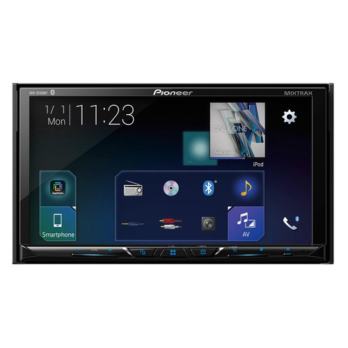 Автомагнитола PIONEER AVH-Z5100BT, USB reakosound 6201a 6 2 inch 6201a audio dvd sb sd bluetooth 2 din car cd player 1 3 inch color cmos camera