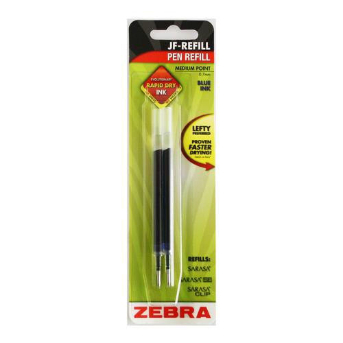Упаковка стержней для гелевых ручек Zebra JF, 0.7мм, синий