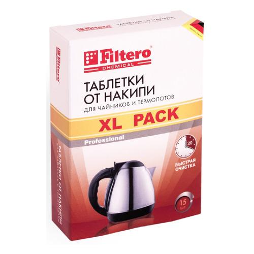 Очиститель от накипи FILTERO Арт.609, для чайников, 15 шт