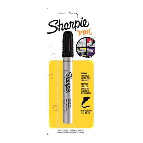 Упаковка перманентных маркеров PAPER MATE Sharpie Metal Barrel, черный [1842531] 12 шт./кор. упаковка перманентных маркеров paper mate fine розовый [2025035] 12 шт кор