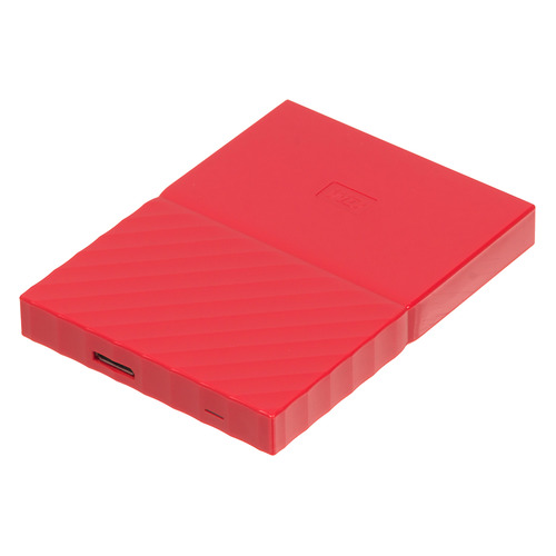 Внешний жесткий диск WD My Passport WDBLHR0020BRD-EEUE, 2Тб, красный 2 5 2000gb wd my passport wdbuax0020bbl eeue usb3 0 синий