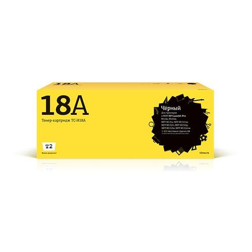 Картридж T2 TC-H18A черный  - купить со скидкой