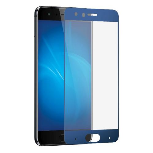 Защитное стекло для экрана DF hwColor-45 для Huawei Honor View 10, 3D, 1 шт, синий [df hwcolor-45 (blue)]  - купить со скидкой