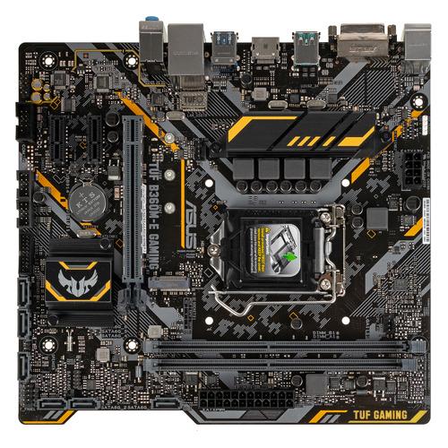 Материнская плата ASUS TUF B360M-E GAMING, LGA 1151v2, Intel B360, mATX, Ret цена и фото