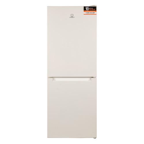 лучшая цена Холодильник INDESIT DF 4160 E, двухкамерный, бежевый [102231]