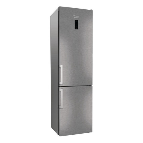 Холодильник HOTPOINT-ARISTON HS 5201 X O, двухкамерный, нержавеющая сталь hotpoint ariston hs 5201 x o