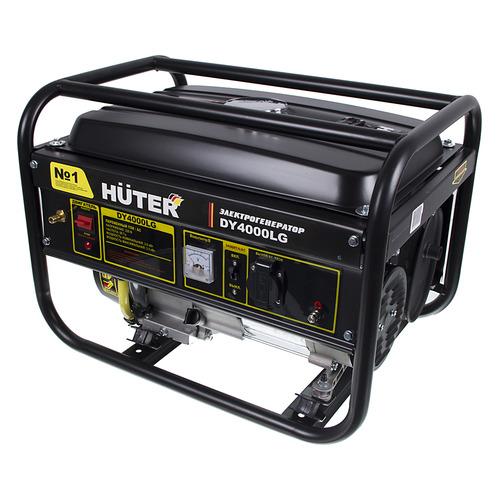 Бензиново-газовый генератор HUTER DY4000LG, 220 В, 3кВт [64/1/31] газо бензиновый генератор huter dy4000lg 3000 вт
