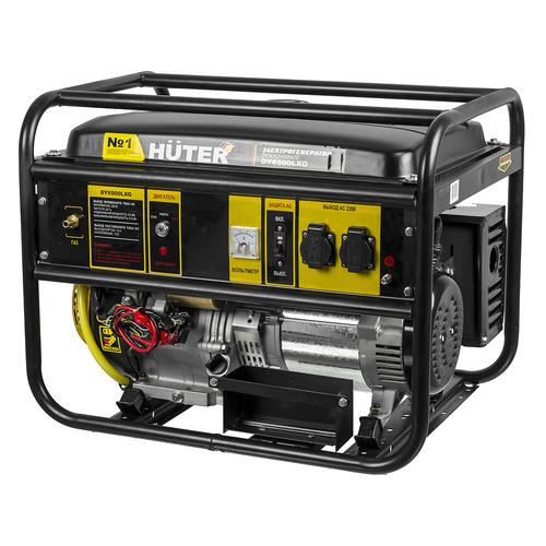 Бензиново-газовый генератор HUTER DY6500LXG, 220, 5кВт [64/1/32]