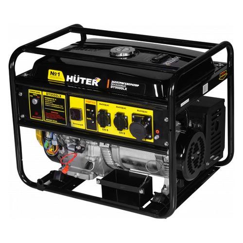 Бензиновый генератор HUTER DY9500LX, 220 В, 8кВт [64/1/40] генератор бензиновый huter dy8000lх 3 64 1 28 15 л с 6 5 квт