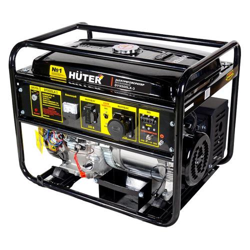 Бензиновый генератор HUTER DY9500LX-3, 380 В, 8кВт [64/1/41] генератор бензиновый huter dy8000lх 3 64 1 28 15 л с 6 5 квт