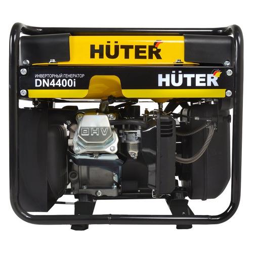 Бензиновый генератор HUTER DN4400i, 220 В, 3.6кВт [64/10/5] генератор бензиновый huter dy8000lх 3 64 1 28 15 л с 6 5 квт