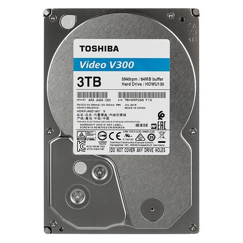 Жесткий диск TOSHIBA V300 HDWU130UZSVA, 3Тб, HDD, SATA III, 3.5