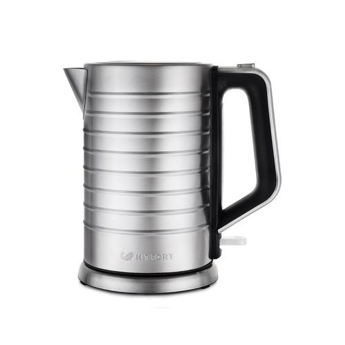 Чайник электрический KITFORT КТ-627, 2200Вт, серебристый