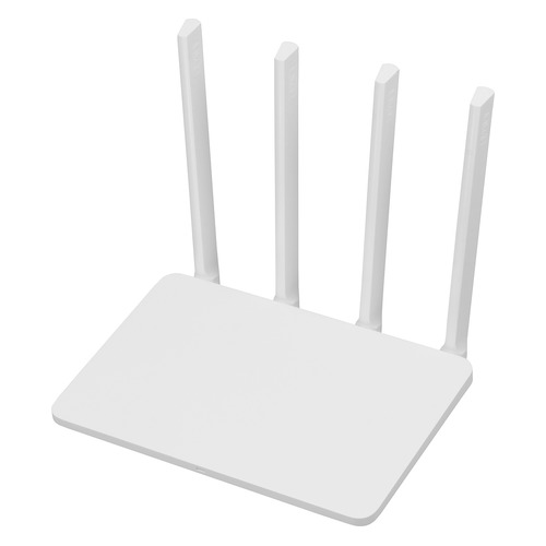 Беспроводной маршрутизатор XIAOMI Mi WiFi Router 3, белый pixlink ac1200 wifi repeater router access point wireless 1200mbps range extender wifi signal amplifier 4external antennas ac05