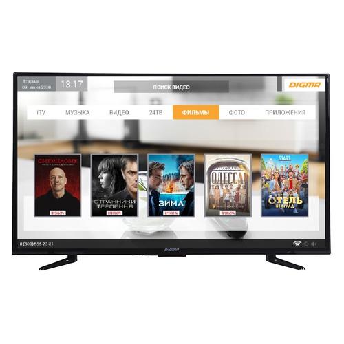 Фото - LED телевизор DIGMA DM-LED39R301BT2S HD READY телевизор soundmax sm led39m06 led 39 black 16 9 1366x768 2500 1 240 кд м2 3xhdmi usb vga av dvb t2 t c