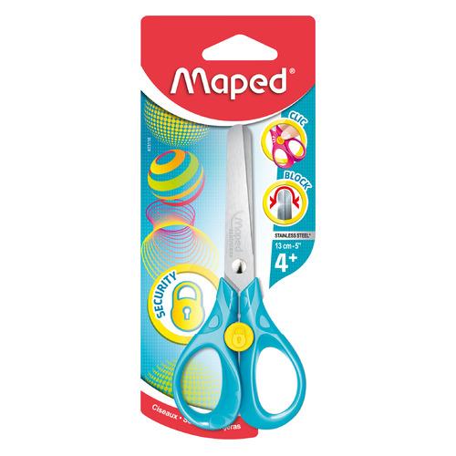 Фото - Упаковка ножниц MAPED 473110 SECURITY 3D детские, 130мм, блистер 12 шт./кор. упаковка ножниц maped 463010 детские 24 шт кор