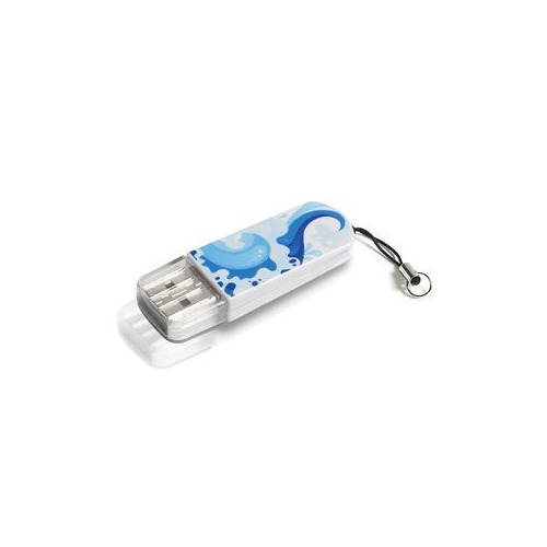 Фото - Флешка USB VERBATIM Mini Elements Edition 32Гб, USB2.0, белый и рисунок [49410] кроватка островок уюта розали маятник поперечный с ящ белый