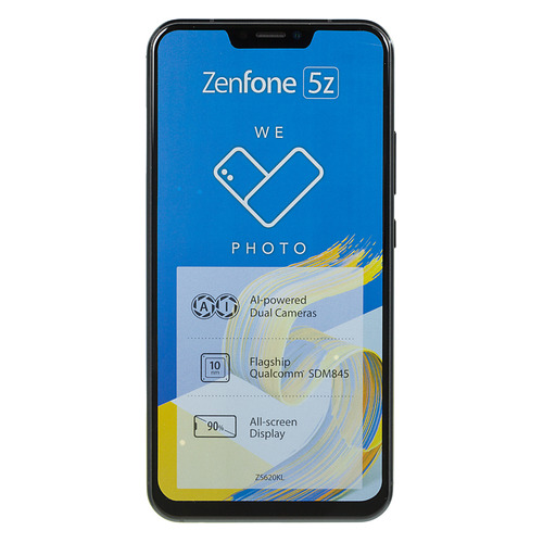 Смартфон ASUS Zenfone 5Z 64Gb, ZS620KL, темно-синий 90AZ01R1-M00490