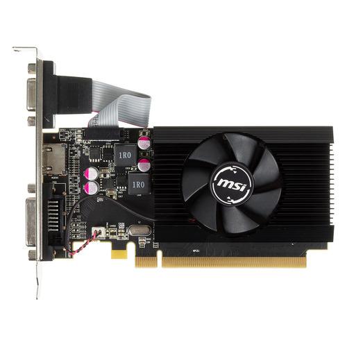 Видеокарта MSI AMD Radeon R7 240 , R7 240 2GD3 64b LP, 2Гб, DDR3, Low Profile, Ret видеокарта asus r7 240 2gb r7240 2gd3 l