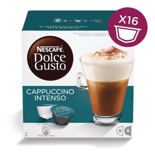 Кофе капсульный DOLCE GUSTO Cappuccino Intenso, капсулы, совместимые с кофемашинами DOLCE GUSTO®, 192грамм [12352784] цена