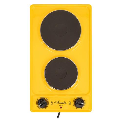 Фото - Плита Электрическая Лысьва ЭПБ 22 желтый эмаль (настольная) электрическая плита лысьва эпб 22 вишневый