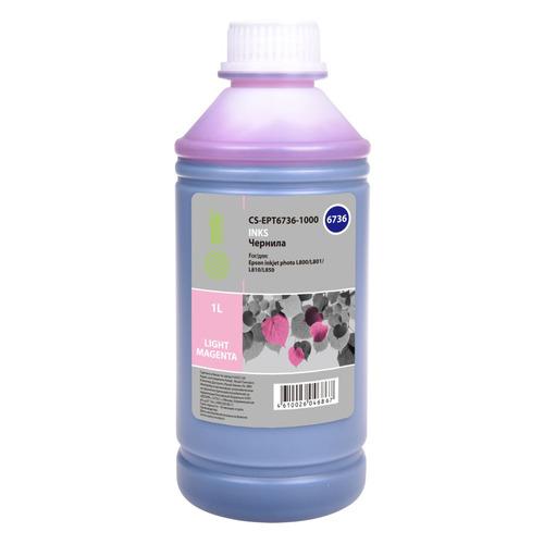 Чернила CACTUS CS-EPT6736-1000, 1000мл, светло-пурпурный
