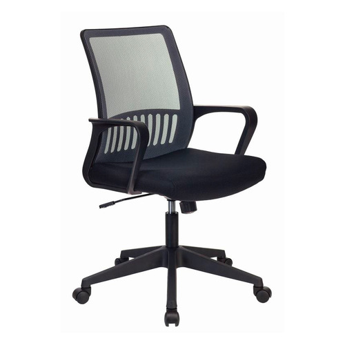 Кресло БЮРОКРАТ MC-201, на колесиках, ткань, серый/черный [mc-201/dg/tw-11] цена