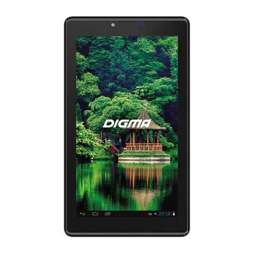 3g Планшет DIGMA Plane 7547S 3G, 1GB, 16GB, 3G, Android 7.0 графит [ps7159pg]