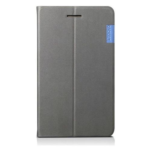 Чехол для планшета LENOVO Folio Case/Film, для Lenovo Tab 7, серый [zg38c02326] цена и фото