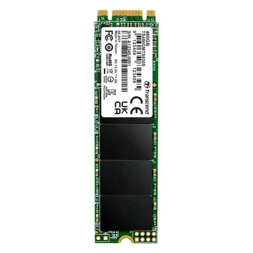 Фото - SSD накопитель TRANSCEND TS480GMTS820S 480ГБ, M.2 2280, SATA III ssd накопитель transcend ts120gmts820s 120gb m 2 2280 sata iii ssd ts120gmts820s
