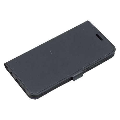 Чехол (флип-кейс) DF hwFlip-41, для Huawei Honor 10, черный чехол флип кейс df hwflip 52 для huawei honor 10 lite черный