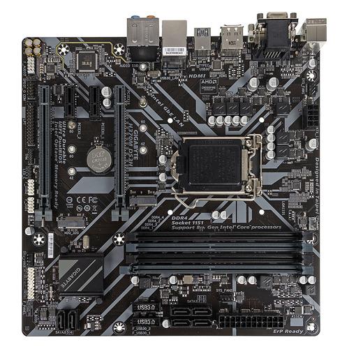 Материнская плата GIGABYTE H370M DS3H, LGA 1151v2, Intel H370, mATX, Ret цена и фото